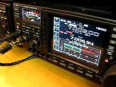Radio amateur cw typique