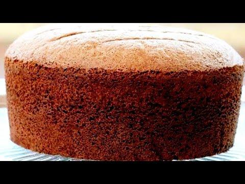Easy Chocolate Sponge Cake Recipe Without Oven Milk Baking Soda Baking Powder Maida Curd Youtube