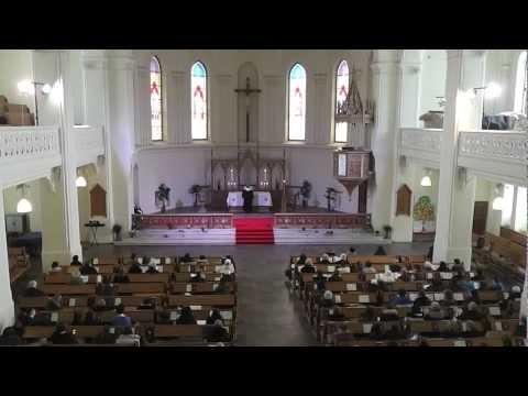 Пасхальное богослужение в Евангелическо-Лютеранском Кафедральном Соборе свв. Петра и Павла в Москве