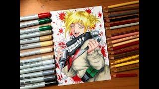 Speed Drawing - Himiko Toga (My Hero Academia) [HD]