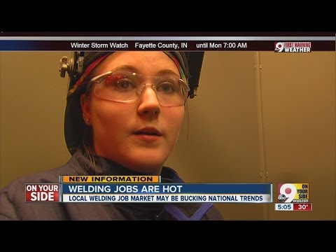 Welding jobs are hot