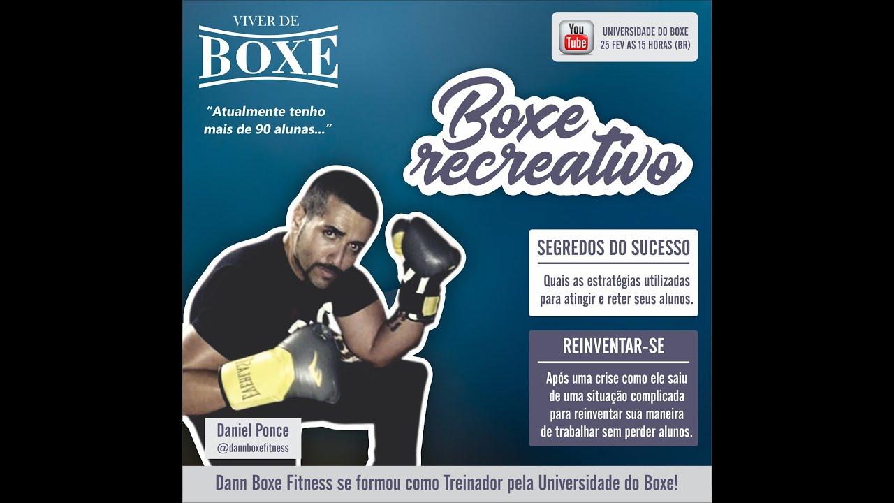 VIVER DE BOXE: Superando a crise com criatividade com o treinador Dann Boxe Fitness