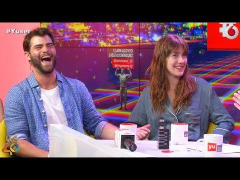Diego Domínguez y Clara Alonso son amor #yuser