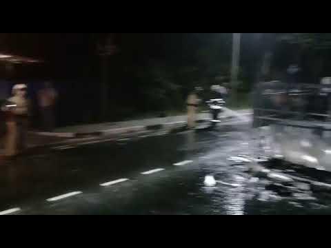 На трассе под Геленджиком дотла сгорел рейсовый автобус