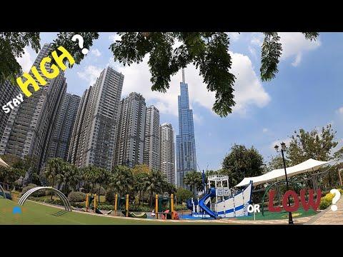Vinhome Central Park 2021: Tham Quan Căn Hộ Góc 87 m2 Tầng 25