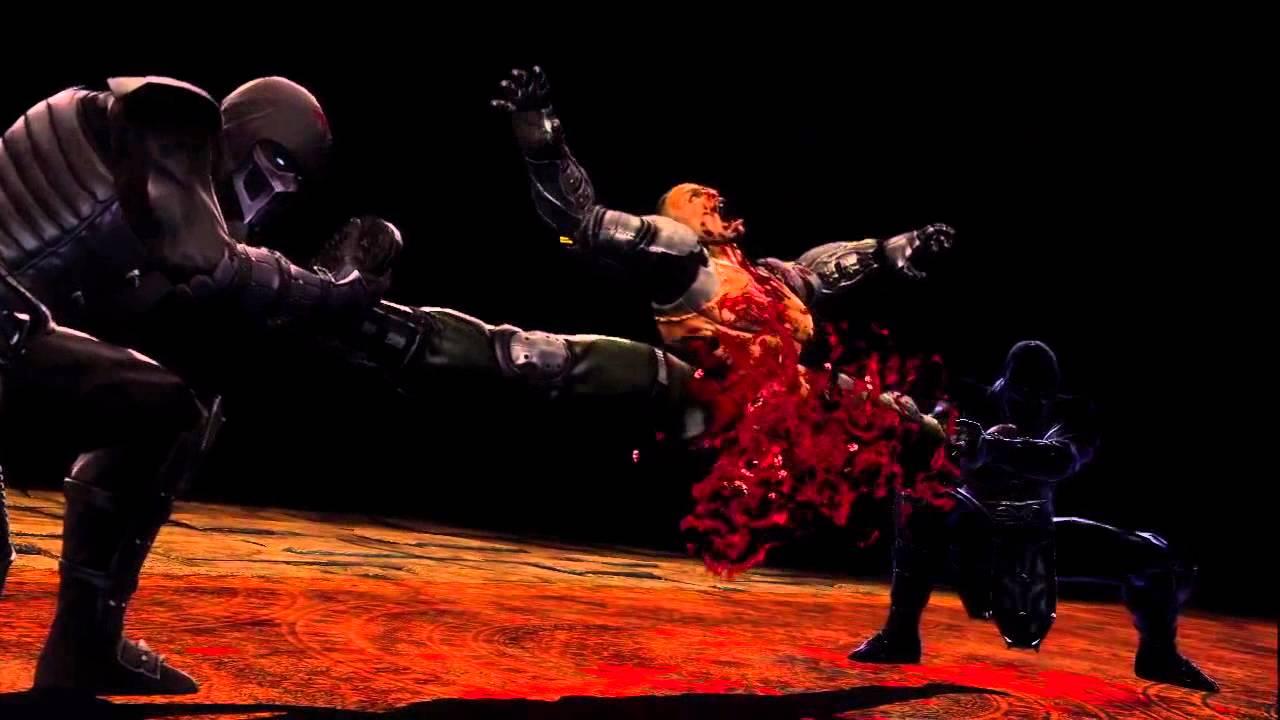 """Image result for Noob Saibot Make a Wish """"Mortal Kombat 9"""