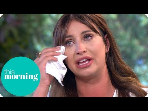 Ferne McCann Emotionally Reveals New Look After Nose Surgery | This Morning