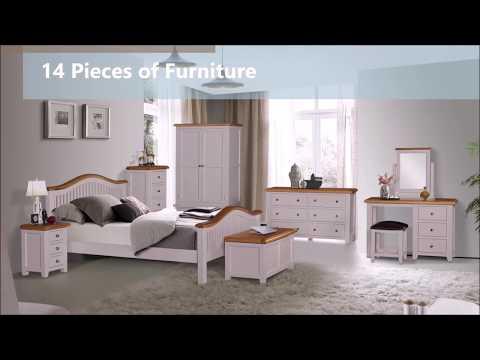 Ventry Bedroom Oak Furniture Range From Elegant Oak