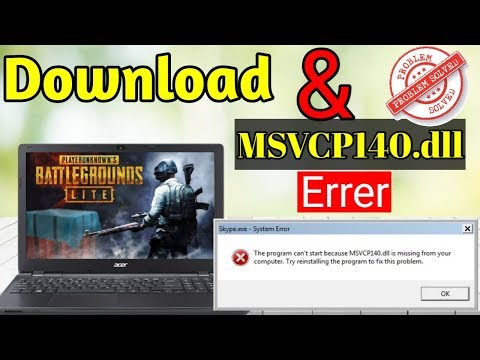 HOW To PUBG Pc Lite Download & Msvcp140.dll Missing Solved Problem   | GURU 2.0 |