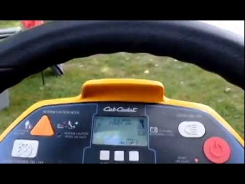 Cub Cadet Rzt S Electric Zero Turn Solar Ed Lawnmower Review