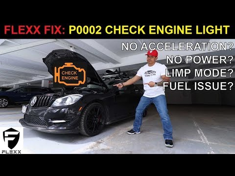 FIX FOR MERCEDES C250 P0002 CHECK ENGINE LIGHT FAULT - YouTube