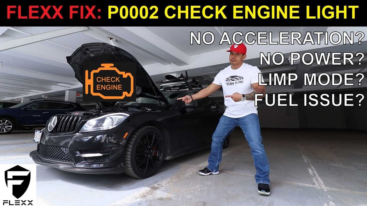 FIX MERCEDES C250 P0002 POWER LOSS WHEN ACCELERATING