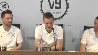 Jamie Vardy Reveals Reason He Was Rejected From Professional Football Aged 16