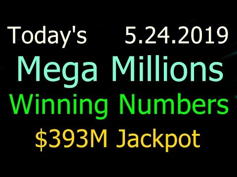 Today Mega Millions Winning Numbers 24 May 2019 Friday. Tonight Mega Millions Drawing 5/24/2019