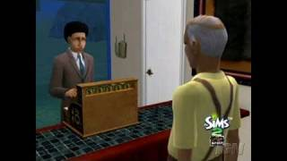 The Sims 2: Open for Business PC Games Gameplay -