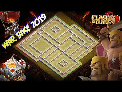 NEW INSANE! WAR BASE Town Hall 11 (TH11) 2019! - Anti 3 Star Strategy Clash Of Clans