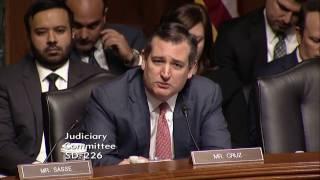 Sen. Cruz Questioning FBI Dir. Comey at Senate Judiciary Hearing