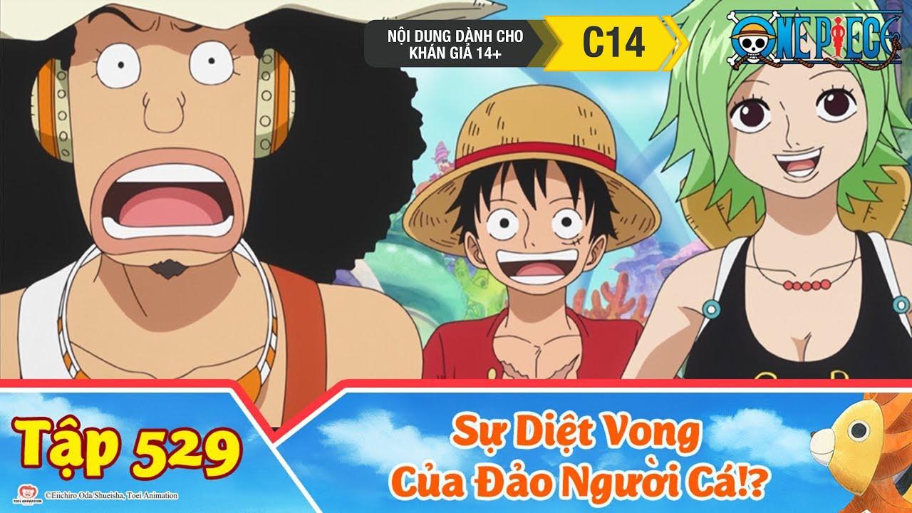 One Piece Best Cut Tập 529: Sự Diệt Vong Của Đảo Người Cá!? Lời Tiên Tri Của Shyarly