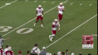 Nathan Gerry Interception vs. Wisconsin 10/29/16