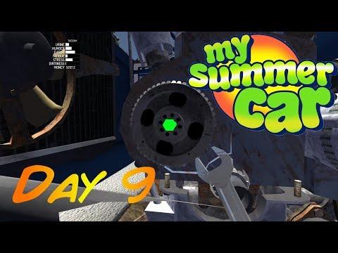 My Summer Car - Day 9 - Fixed It ! ... Kinda ......