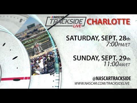 NASCAR Trackside Live: Sunday At Charlotte Motor Speedway Roval