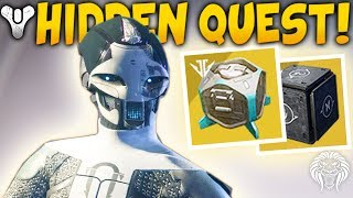 Destiny 2: NEW SECRET CODE u0026 EXOTIC BOX! Locked Quest, Hidden Puzzle Scope u0026 Easy Forge Tricks