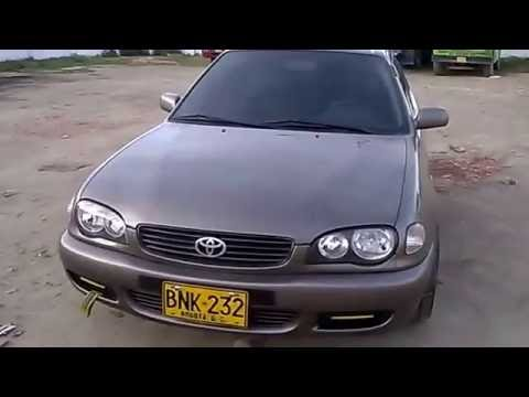 toyota corolla 2002 tuning colombia youtube. Black Bedroom Furniture Sets. Home Design Ideas