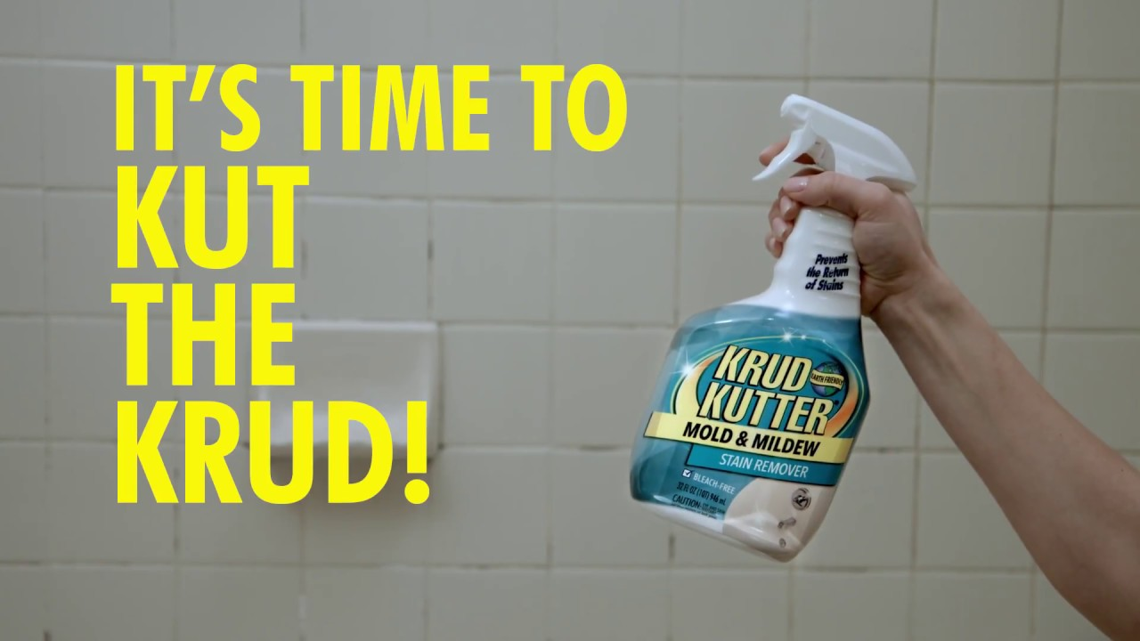 Clean Bathroom Grime In A Snap With Krud Kutter Mold And Mildew - Bathroom mildew remover