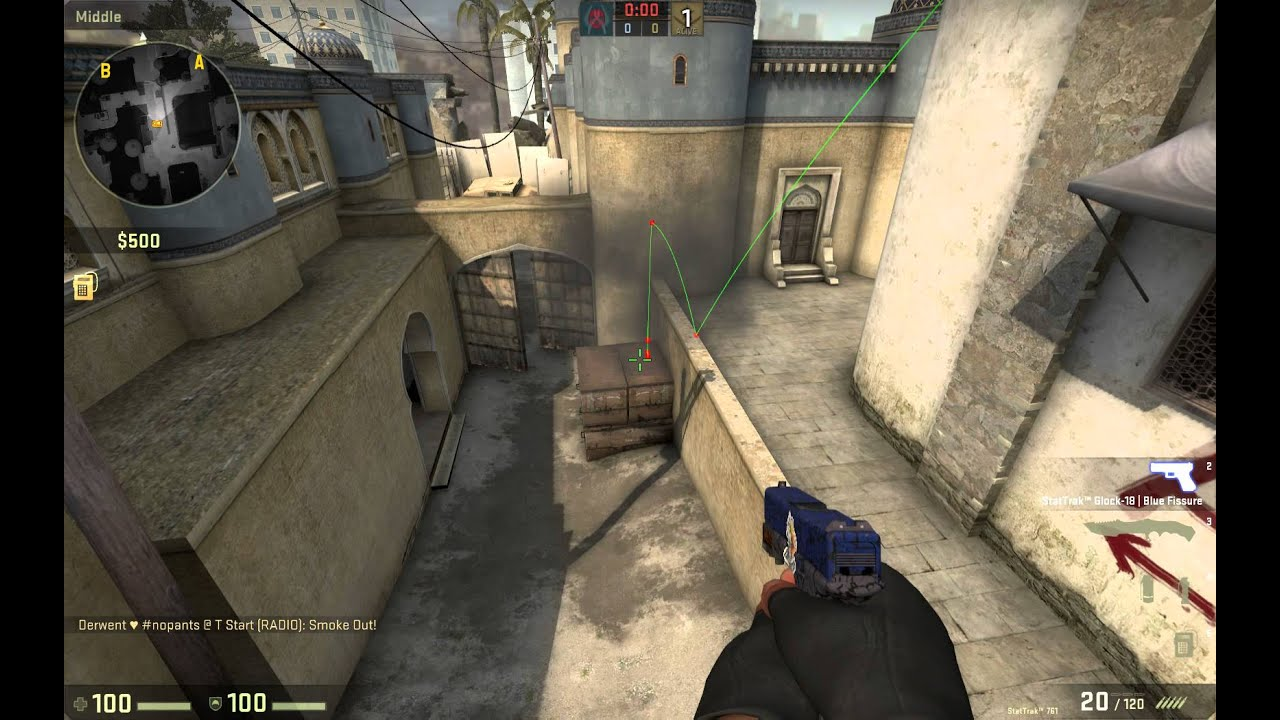 how to play 128 tick csgo