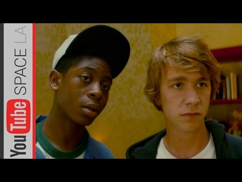 Me, Earl, and the Dying Girl: Interview with Thomas Mann and RJ Cyler at YouTube Space LA!