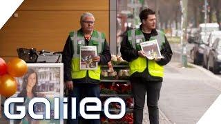 Selbstexperiment: Die Straßen-Zeitung: Haben die Obdachlosen etwas davon? | Galileo | ProSieben