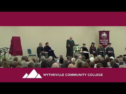 Presidential Inauguration of Dr. Dean E. Sprinkle at Wytheville Community College