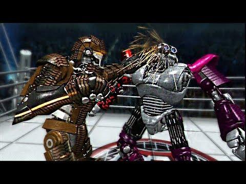 REAL STEEL THE VIDEO GAME-Palladius vs Pigsy & Blackjack (ЖИВАЯ СТАЛЬ)