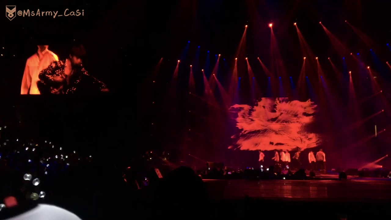 Bts Wings Tour Anaheim