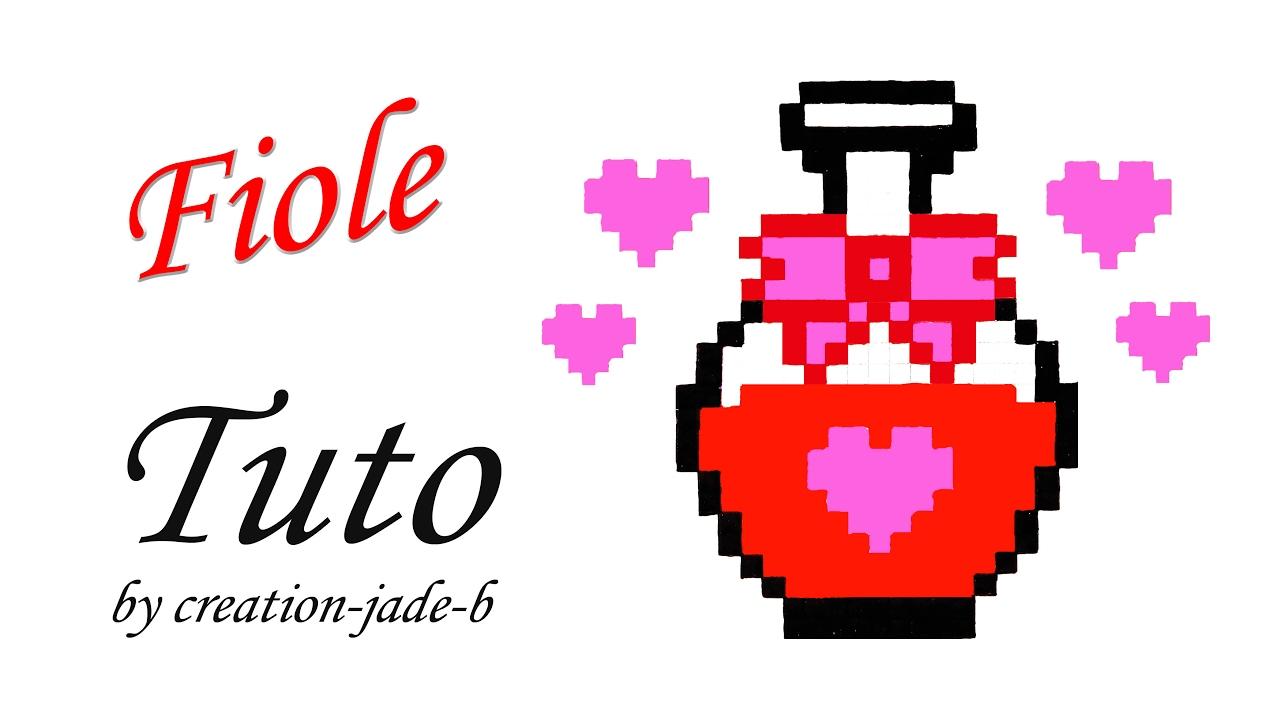 Tuto Pixel Art Fiolepotion Damour Saint Valentin
