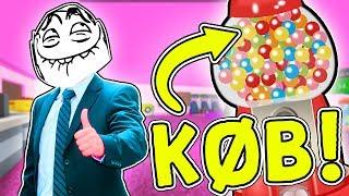 VERDENS DYRESTE TYGGEGUMMI?! #1 - Dansk Roblox: Arcade Tycoon