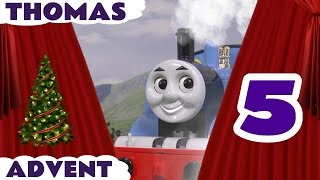 Томас & Друзів Різдвяний Сюрприз Іграшки Поїзда Угадайку Адвент Календар День 5 ToyTrains4u