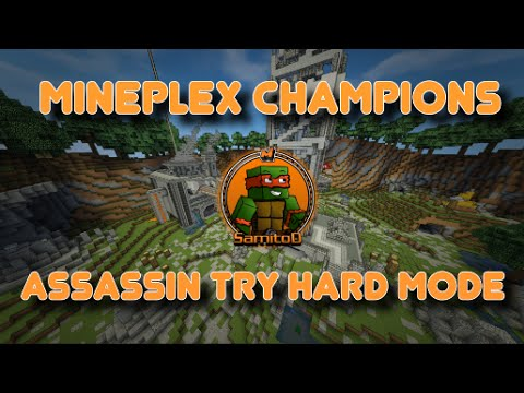 Mineplex Champions: Assassin Try Hard Mode!