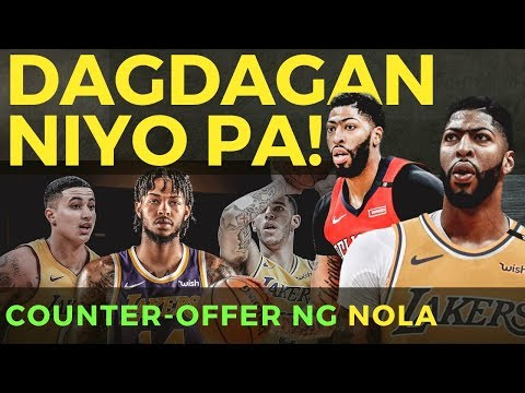 COUNTER-OFFER ng PELICANS sa LAKERS kapalit ni Anthony Davis.