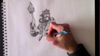 Firefighter Pompier - Par Paolo Morrone