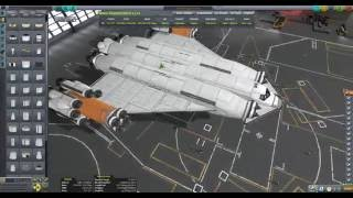 KSP Diaries - 120t Cargo ship construction and testing[Incomplete]
