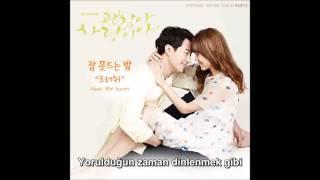 Crush - Sleepless Night (It's Okay, That's Love OST Part.3) [Türkçe Altyazılı/Turkish Sub]