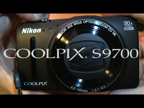 Nikon COOLPIX S9700 Full Review and Unboxing Video with all tests.