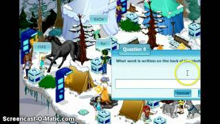 Repeat youtube video Winterling Quest Answers in Woozworld