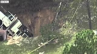 Florida sinkhole swallows truck