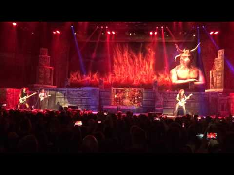 Iron Maiden Concert The Number of the Beast  Live Tulsa 2-26-2016