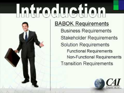earning-iiba's-certified-business-analysis-professional-(cbap)-certification