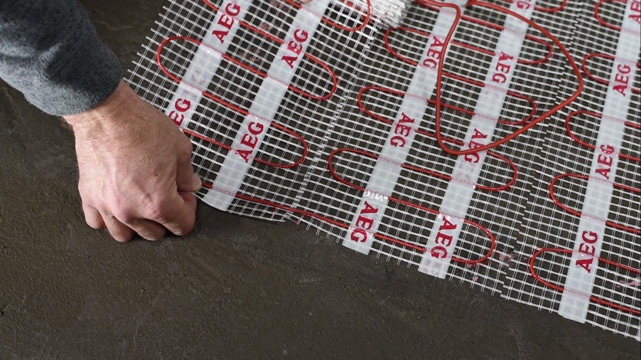Extrem Elektrische Fußbodenheizung richtig verlegen – Tipps und Tricks GA31