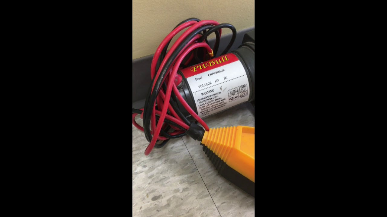 small resolution of pit bull 12 v power winch