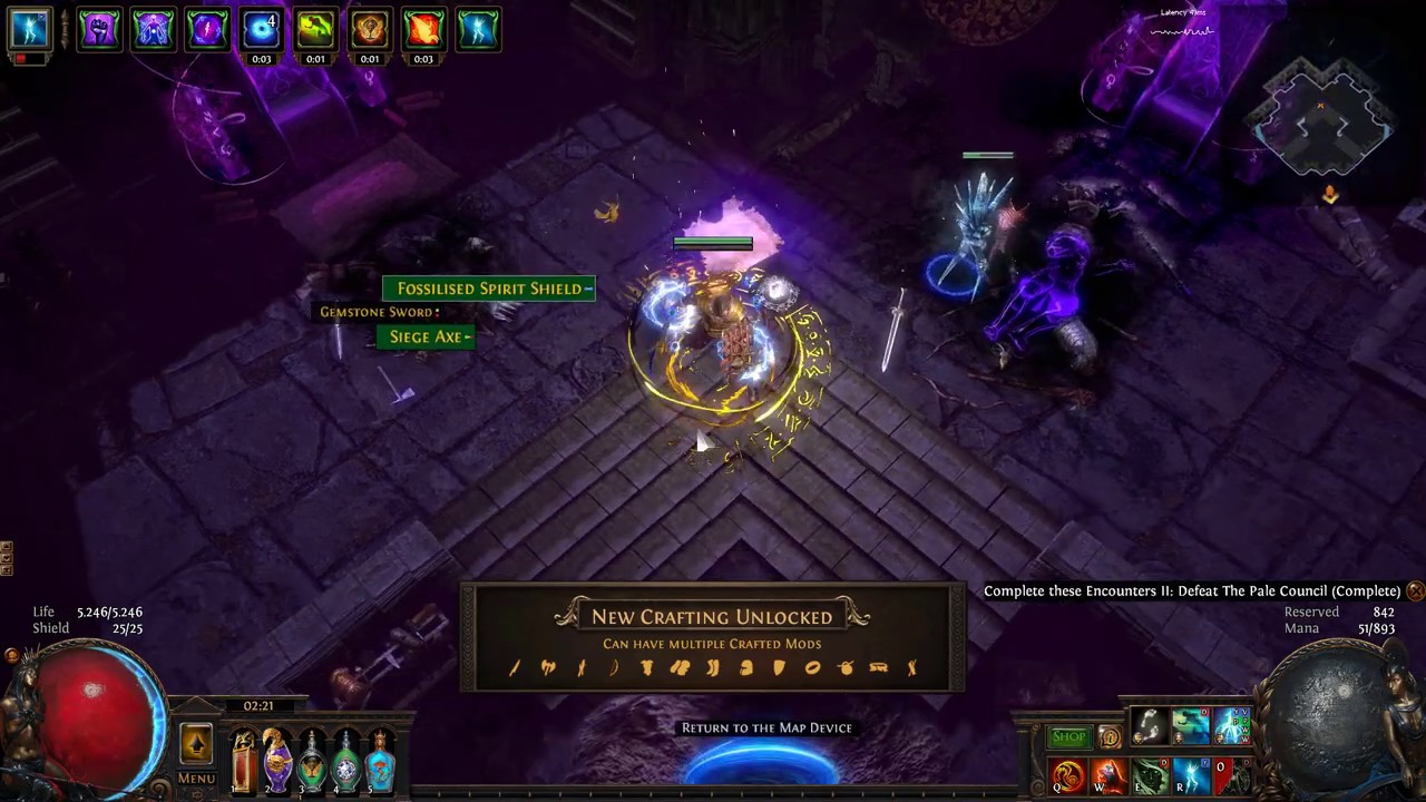 poe multiple crafted mods